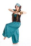 Oriental dancer Stock Image