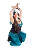 Oriental dancer Stock Photos
