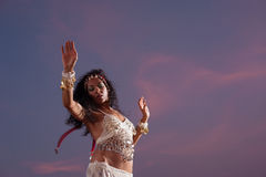 Oriental dancer Stock Photography