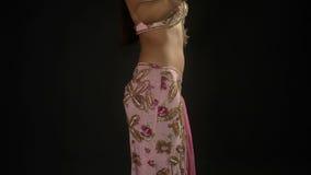 Oriental dancer stock footage