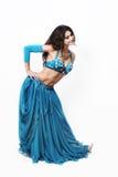 Oriental dancer cabaret woman Royalty Free Stock Photos