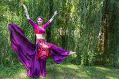 Oriental Dancer Royalty Free Stock Photography