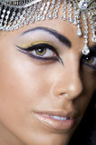 Oriental dancer woman Royalty Free Stock Image