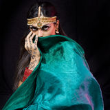 Oriental dancer woman Royalty Free Stock Photography