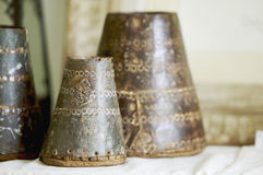 Oriental decoration material Stock Image