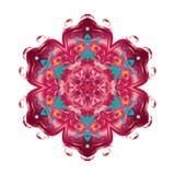 Oriental decorative flower Stock Photography