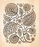 Oriental decorative pattern vector illustration