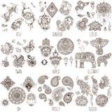 Oriental decorative symbols Stock Photography