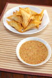 Oriental deep fried wontons Royalty Free Stock Photography