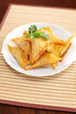 Oriental deep fried wontons Royalty Free Stock Images