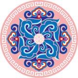 Oriental Design Element. Round Oriental Design Elements Including Vector format stock illustration