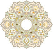 Oriental design element. Oriental ornament vector design in colorful seamless pattern Royalty Free Stock Photo