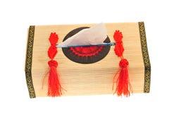 Oriental Design  Tissue Box Stock Photo