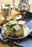 oriental dessert of sunflower seeds - halva Stock Photos
