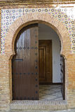 Oriental door stock photos