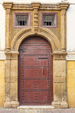 Oriental door in Morocco Stock Photos