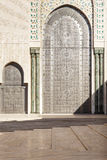 Oriental doors Hassan II Mosque, Casablanca Royalty Free Stock Photography