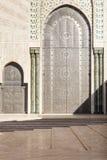 Oriental doors Hassan II Mosque, Casablanca Royalty Free Stock Photography