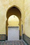 Oriental doors in Morocco Royalty Free Stock Image