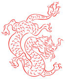 Oriental dragon Stock Photography