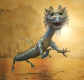 Oriental Dragon Stock Photo