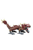 Oriental dragon of ceramic Stock Photography