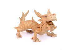 Oriental dragon figurine Royalty Free Stock Image