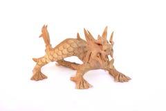 Oriental dragon figurine Stock Photos