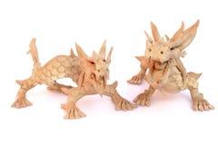Oriental dragon figurine Royalty Free Stock Photo