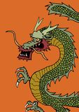 Oriental Dragon Royalty Free Stock Image