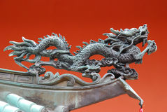 Oriental Dragon Ornament Royalty Free Stock Photos