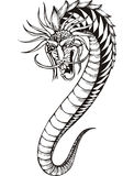 Oriental dragon worm Stock Image