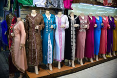 Oriental dresses. Morocco Stock Photography