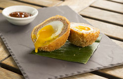 Oriental Duck Scotch egg Stock Photography