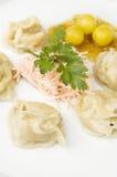Oriental dumplings Royalty Free Stock Photo