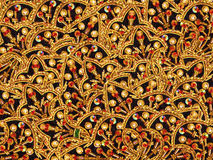 Oriental embroidery. Texture abstraction, illustration, structural and coloured, can be utilized designers for creation and processing of different images Royalty Free Stock Image