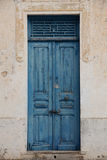An oriental entrance door Royalty Free Stock Images