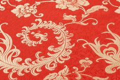 Oriental fabric Stock Images