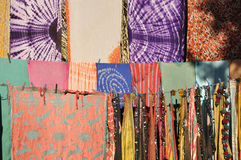Oriental fabrics Royalty Free Stock Photos