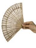 Oriental fan Royalty Free Stock Photography