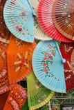 Oriental fans Stock Image