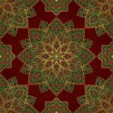 Oriental colorful pattern. Royalty Free Stock Photos