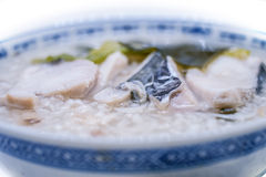 Oriental Fish Porridge Royalty Free Stock Photography