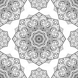 Oriental floral ornament. Royalty Free Stock Images
