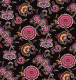 Oriental Floral Pattern royalty free illustration