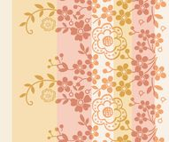 Oriental Floral Pattern Royalty Free Stock Photo