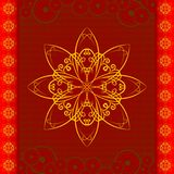 Oriental Flower Pattern Royalty Free Stock Images