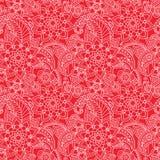 Oriental flowers pattern Stock Photo