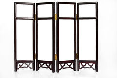 Oriental Folding Screen Royalty Free Stock Photos