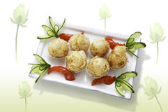Oriental food Royalty Free Stock Photos